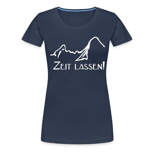 Watze-Zeitlassen - Frauen Premium T-Shirt