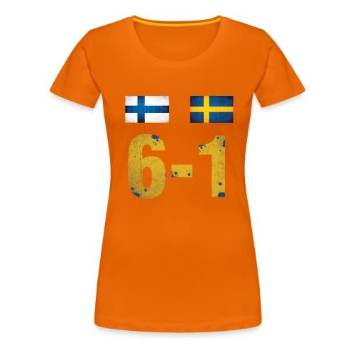 Kuusyks - Naisten premium t-paita