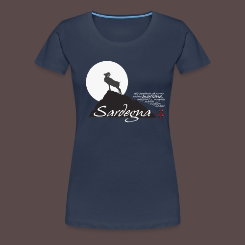 Mufflon Sardinia - Maglietta Premium da donna
