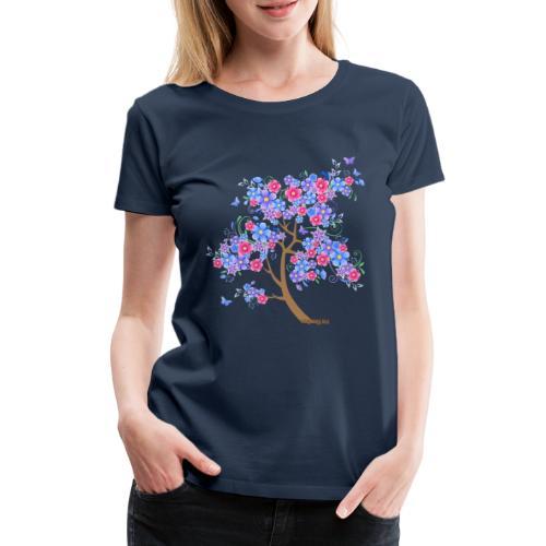 flowering ii - Frauen Premium T-Shirt