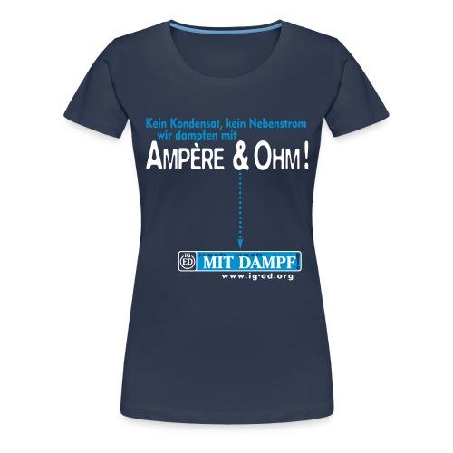 iged rz tshirt1 - Frauen Premium T-Shirt