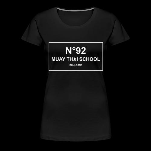 MTS92 N92 - T-shirt Premium Femme