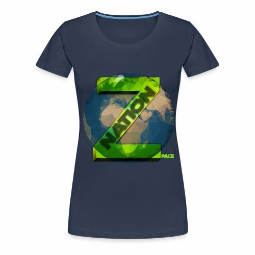 Zpace NATION Logo (pace) - Women's Premium T-Shirt