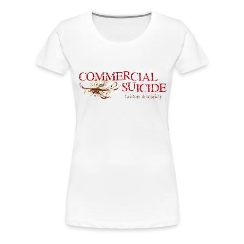 twisters sobriety - Frauen Premium T-Shirt