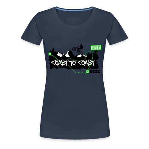 Coast to Coast Ride - Frauen Premium T-Shirt