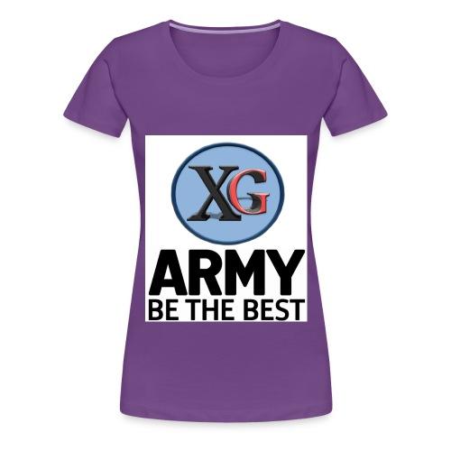 xg t shirt jpg - Women's Premium T-Shirt