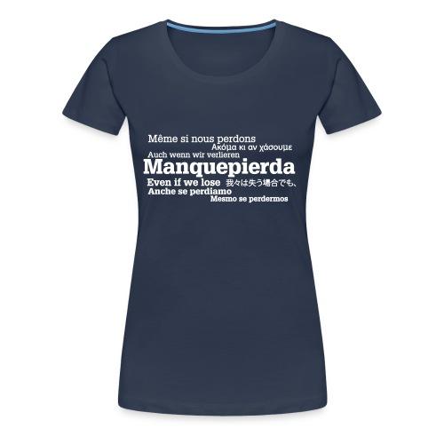 camisetaidiomas2 - Camiseta premium mujer