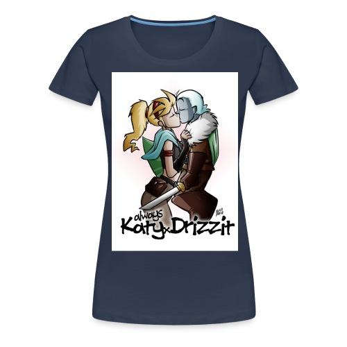 Driz xKaty jpg - Maglietta Premium da donna