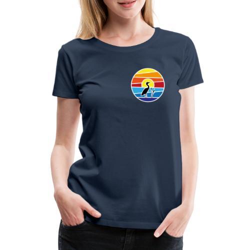 Bald isch's wieder schee-Fest 2021 (weiße Schrift) - Frauen Premium T-Shirt