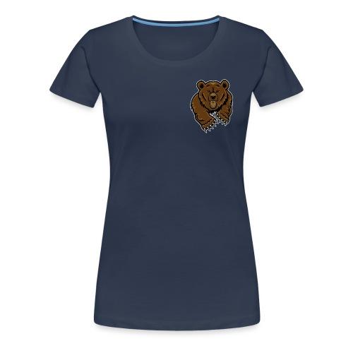 grizzly bear clip art 271767 png - Women's Premium T-Shirt