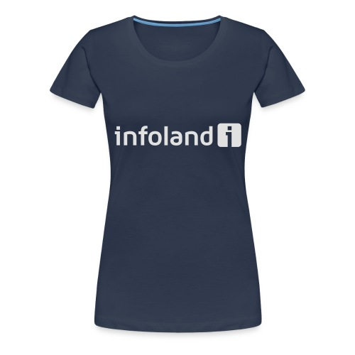 Infoland Logo - Vrouwen Premium T-shirt