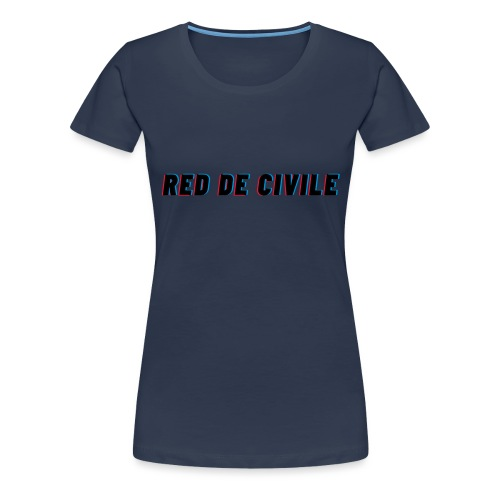 RED DE CIVILE main logo - Dame premium T-shirt