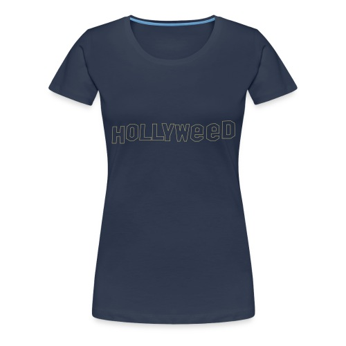 Hollyweed shirt - T-shirt Premium Femme
