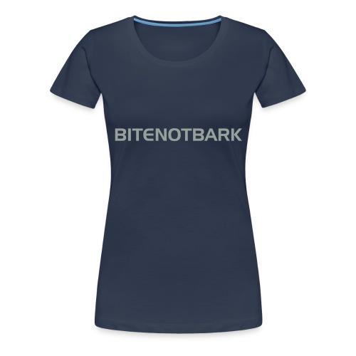 BNB-Schriftzug AI - Frauen Premium T-Shirt
