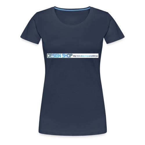ny logo lang - Premium T-skjorte for kvinner