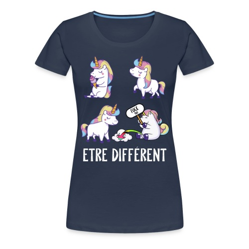 Fuck you Licorne - T-shirt Premium Femme