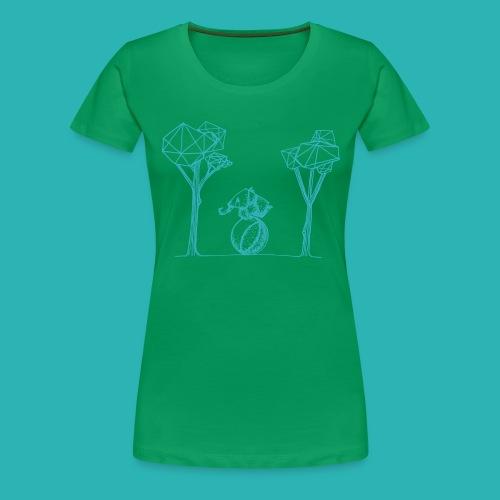 Rotolare_o_capitombolare_lightblu-png - Maglietta Premium da donna
