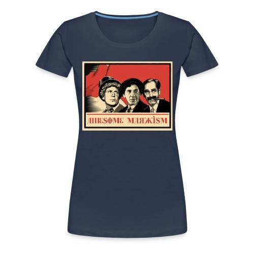 Awesome Marxism - Camiseta premium mujer