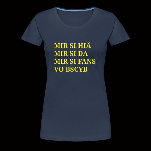 BSCYB - Frauen Premium T-Shirt