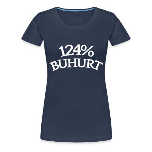 124 - Naisten premium t-paita