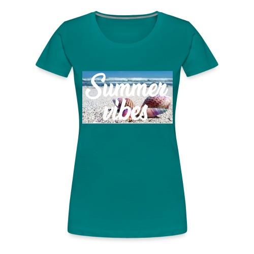 Summervibes - Frauen Premium T-Shirt