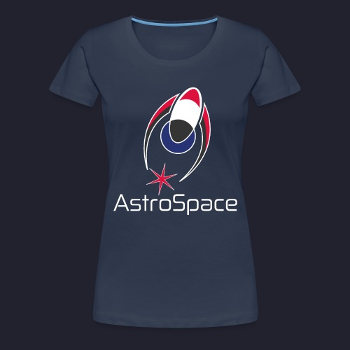 AstroSpace Logo with Title - Women's Premium T-Shirt