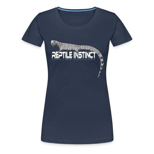 Reptile Instinct big - Women's Premium T-Shirt
