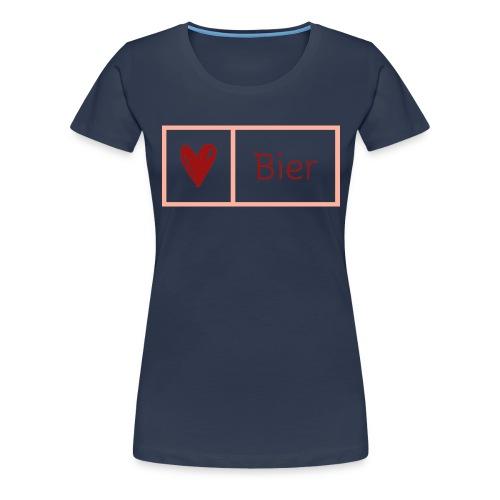 Bierlarge - Frauen Premium T-Shirt