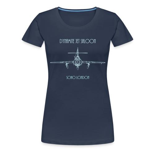 Dynamite Jet Saloon - Women's Premium T-Shirt