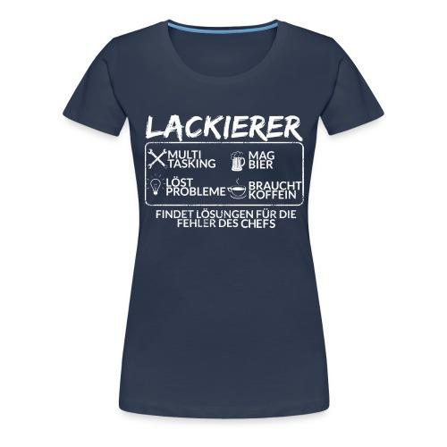Der Lackierer - Frauen Premium T-Shirt