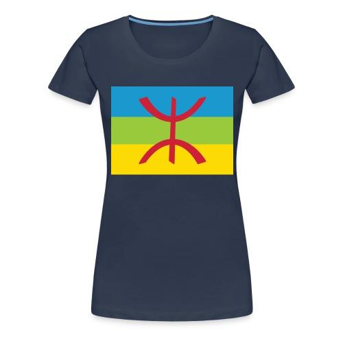Amazigh Flag Clean - Vrouwen Premium T-shirt