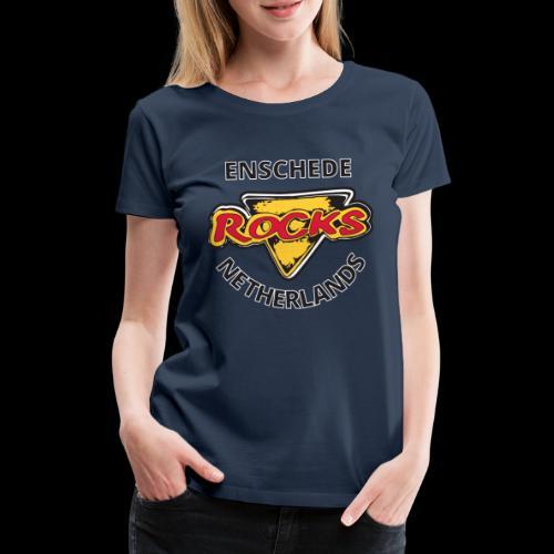Color Cafe Rocks Logo T-Shirt - Vrouwen Premium T-shirt