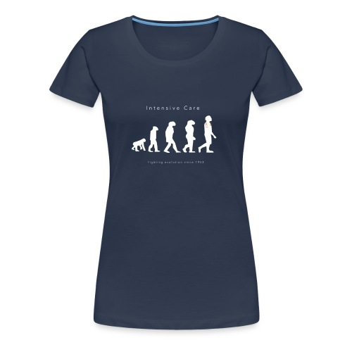 Intensive Care Fighting Evolution Since 1953 - Women's Premium T-Shirt