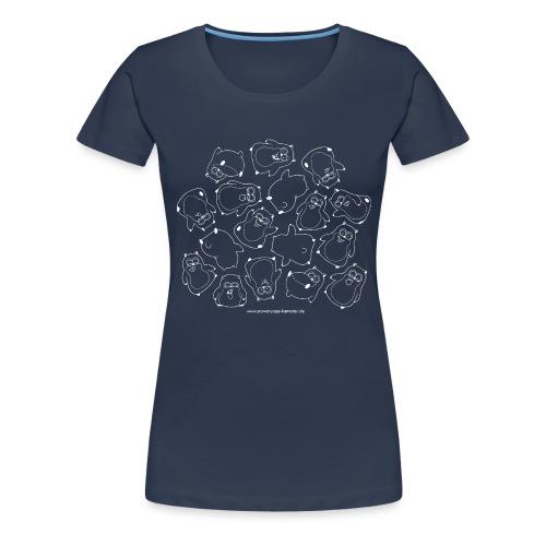 Hamsters (w) - Frauen Premium T-Shirt