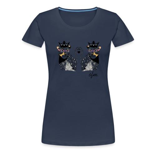KingLeo - Camiseta premium mujer