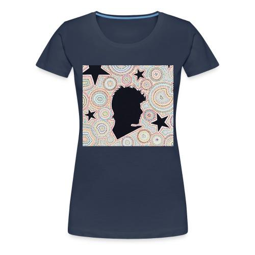 Black Starman - T-shirt Premium Femme