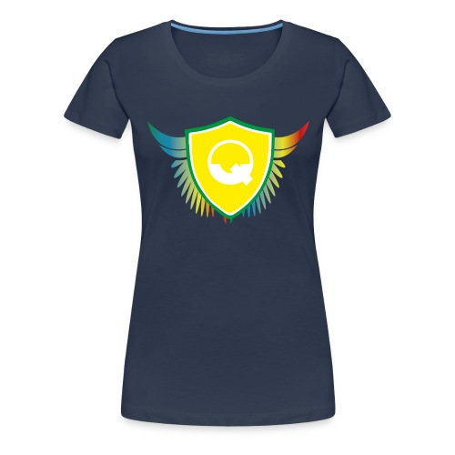 Logo Quicky Angel Color - T-shirt Premium Femme