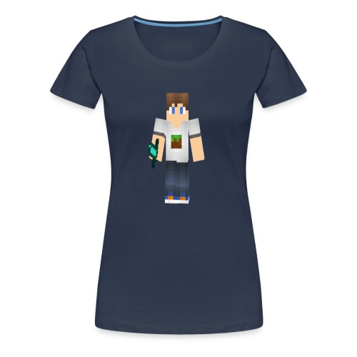 ViddeVis Herr Tröja 13år-upp - Premium-T-shirt dam
