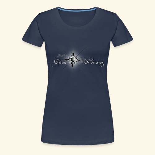 Chroniken Schriftzug hell - Frauen Premium T-Shirt