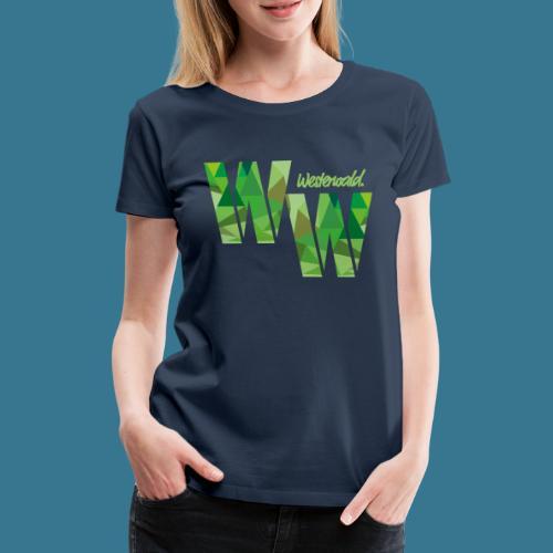 WW-Camouflage - Frauen Premium T-Shirt