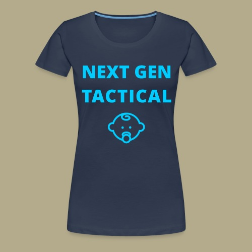 Tactical Baby Boy - Vrouwen Premium T-shirt