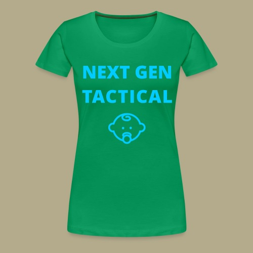 Tactical Baby Boy - Vrouwen Premium T-shirt