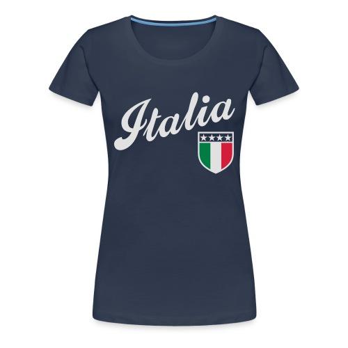 Italia Wapen - Frauen Premium T-Shirt