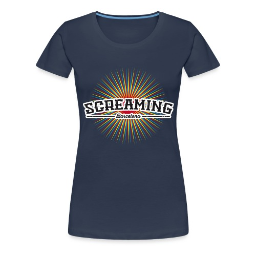 COLORFULL TSHIRT - Camiseta premium mujer