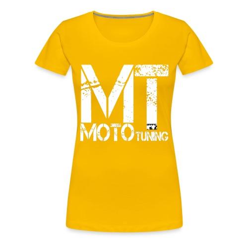 MotoTuning Logo - Women's Premium T-Shirt