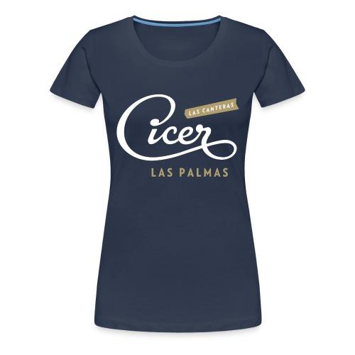 Cicer Las Canteras - Vrouwen Premium T-shirt