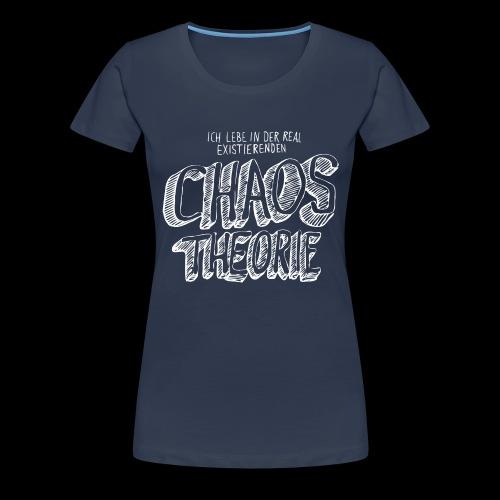 Chaostheorie (weiss) - Frauen Premium T-Shirt