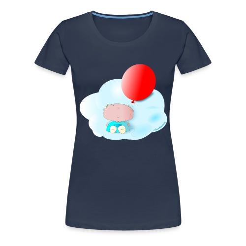 Petit amb globus - Camiseta premium mujer