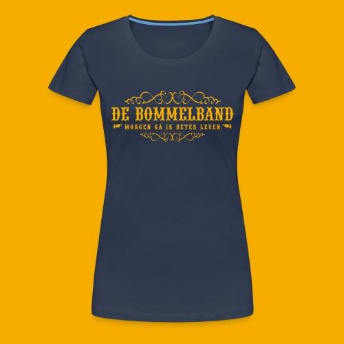 bb tshirt back 01 - Vrouwen Premium T-shirt