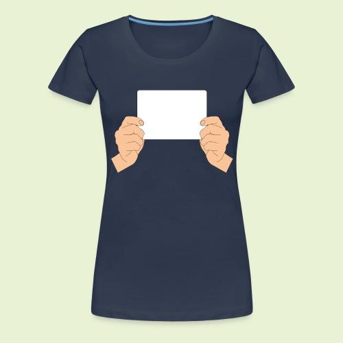 Weißabgleich - handlich - Frauen Premium T-Shirt